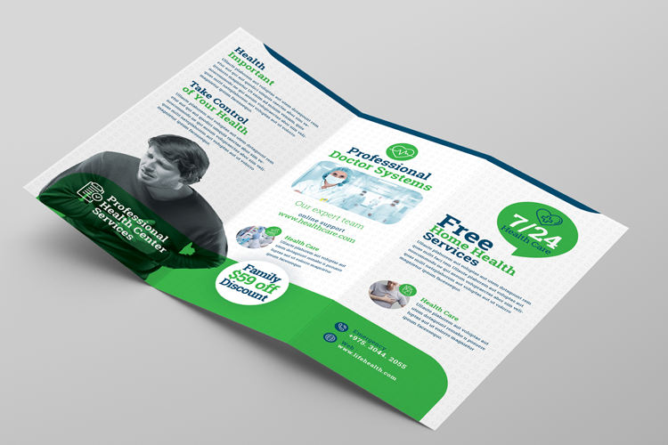 Health Professional Trifold Brochure Template example image 6