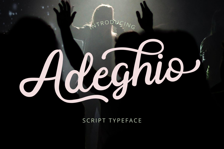 Adeghio example image 1