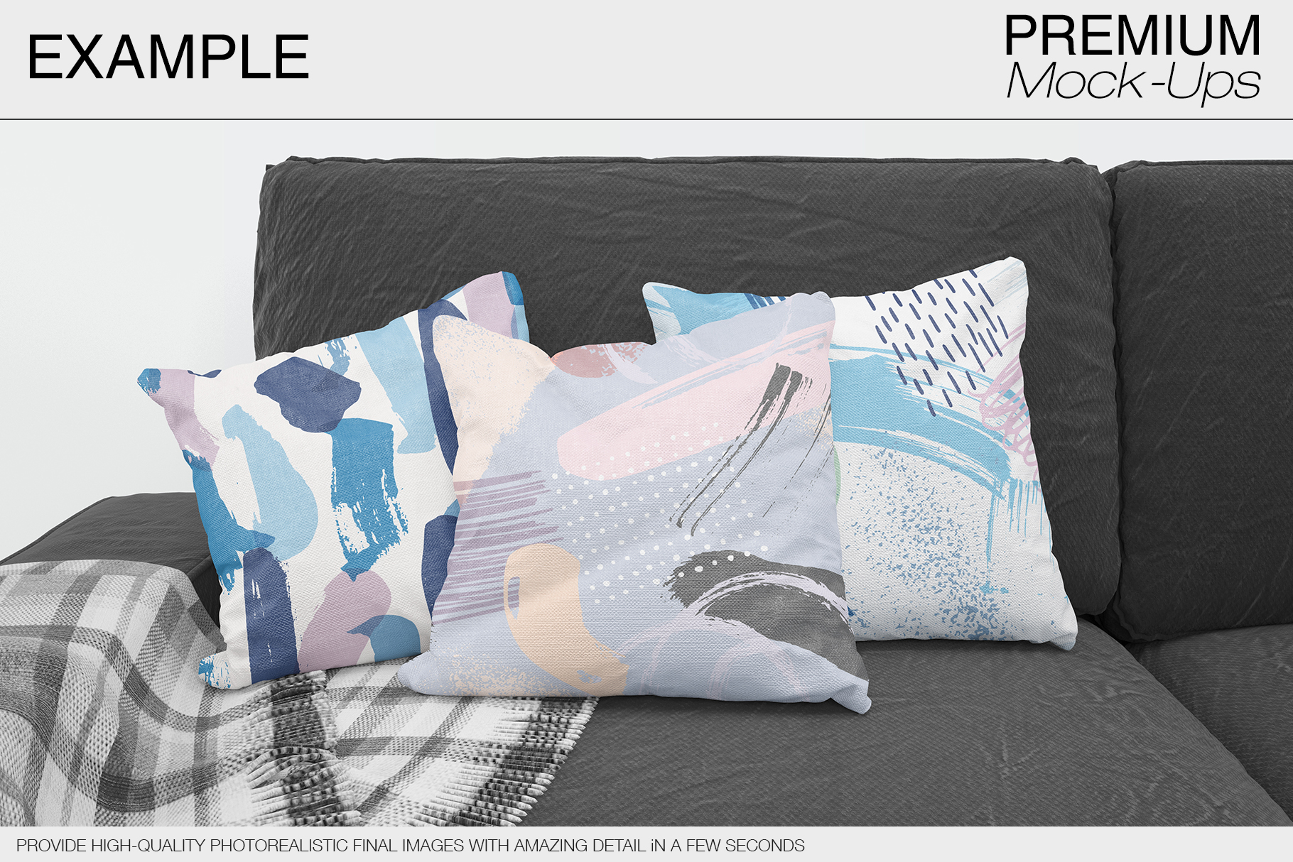 Pillow Mockups example image 11