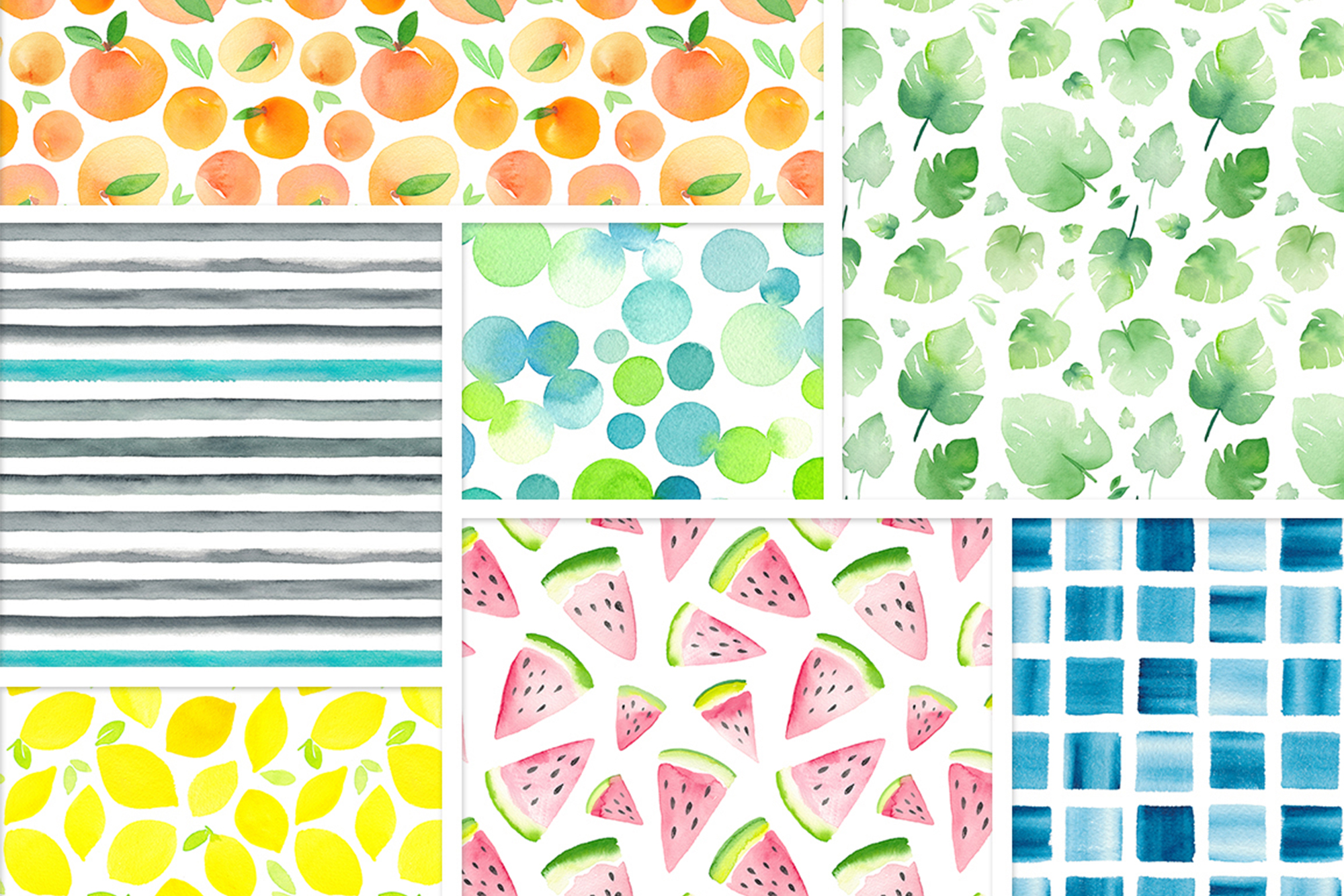 Watercolor Graphics Bundle example image 6