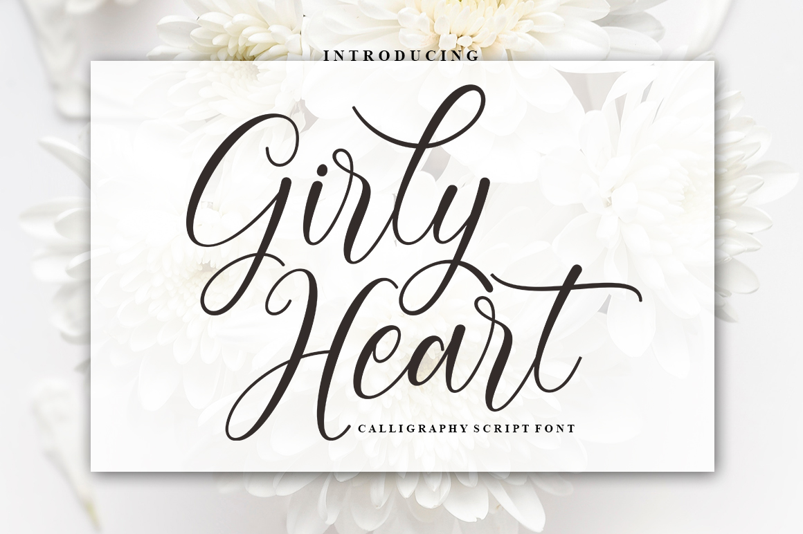 Girly Heart example image 2