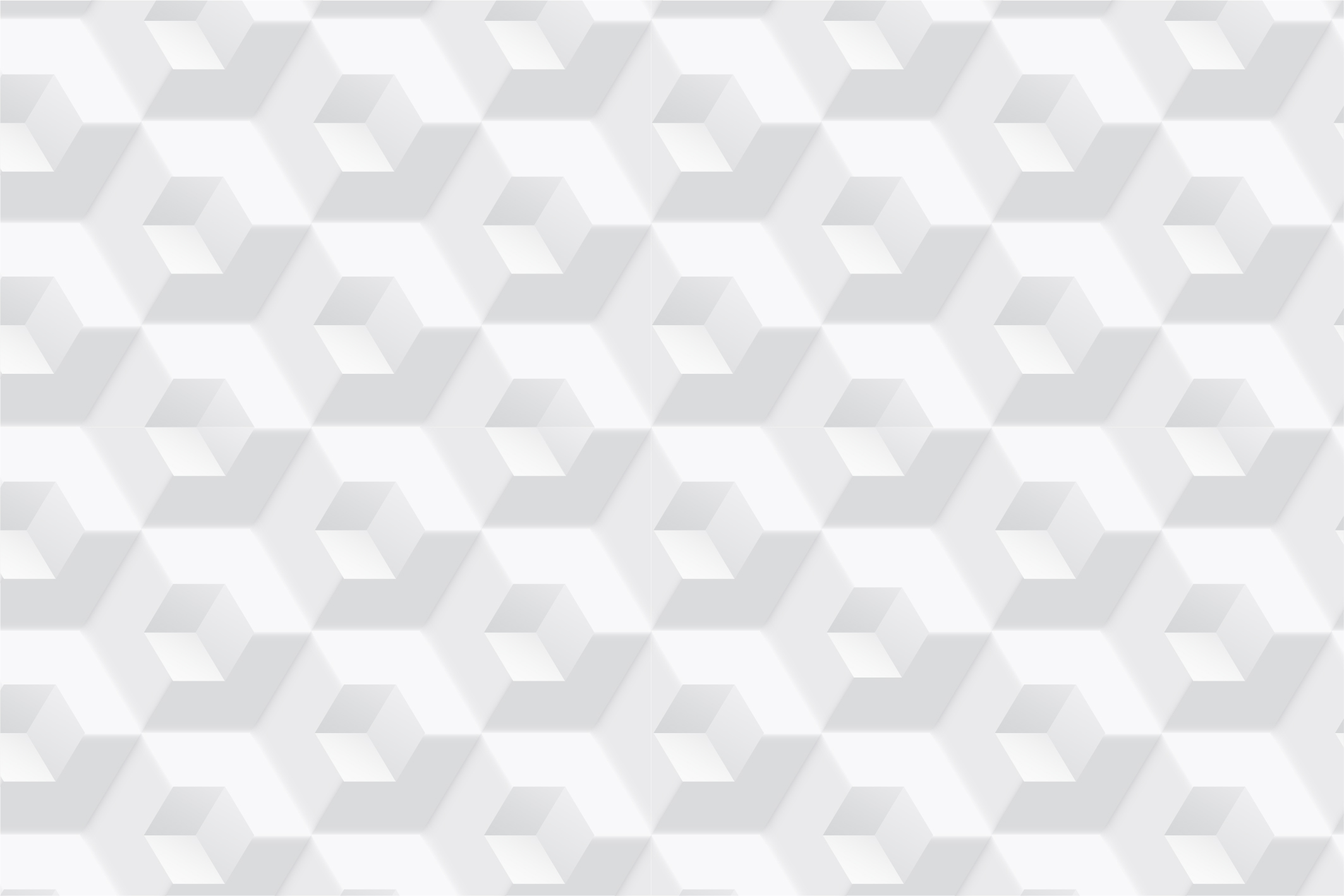 White geometric 3d seamless textures example image 8