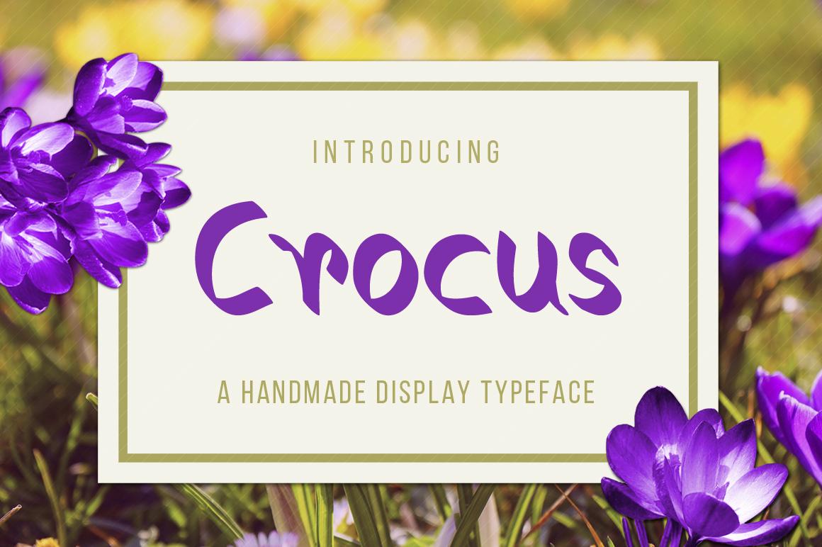 Crocus Typeface example image 1