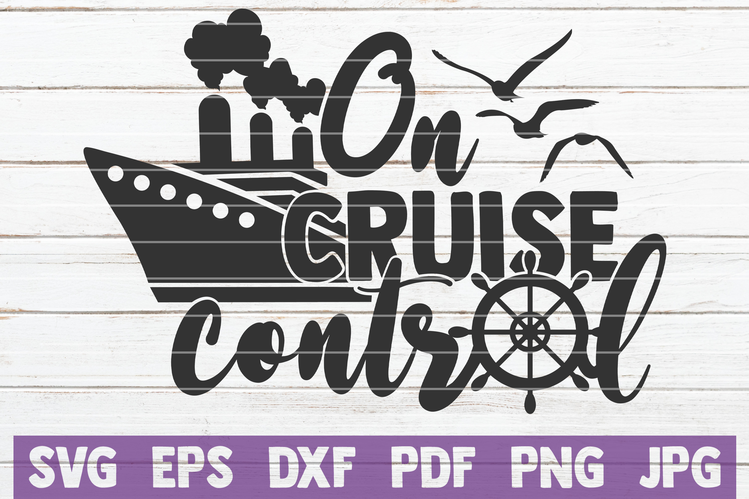 On Cruise Control SVG cut file example image 1