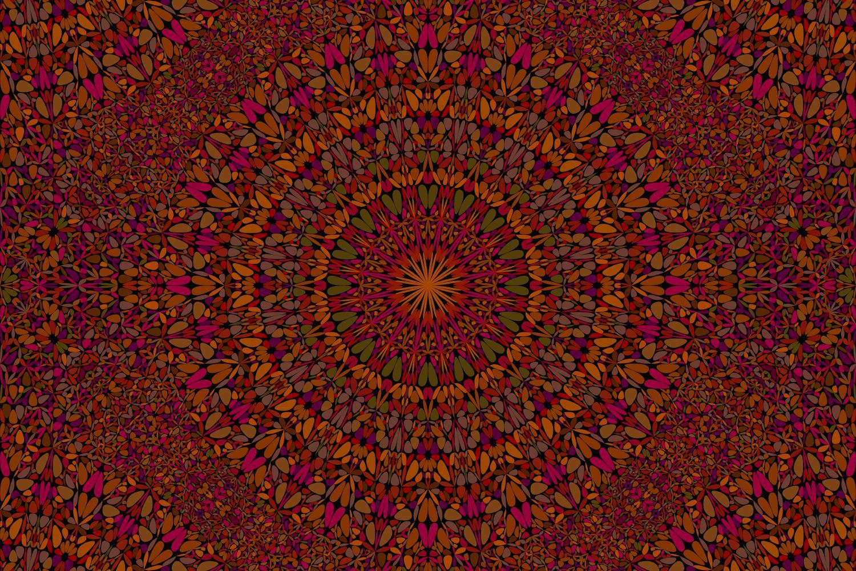 48 Seamless Floral Mandala Patterns example image 19