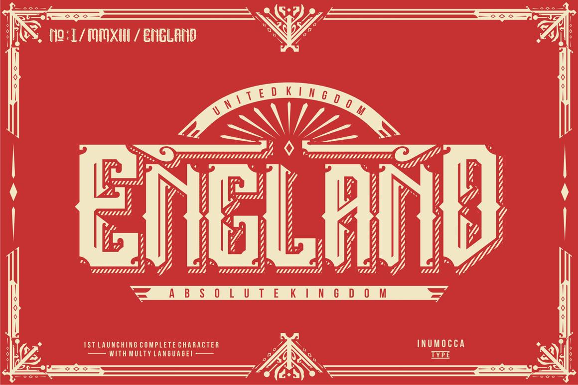 5 Typeface vintage bundle example image 6
