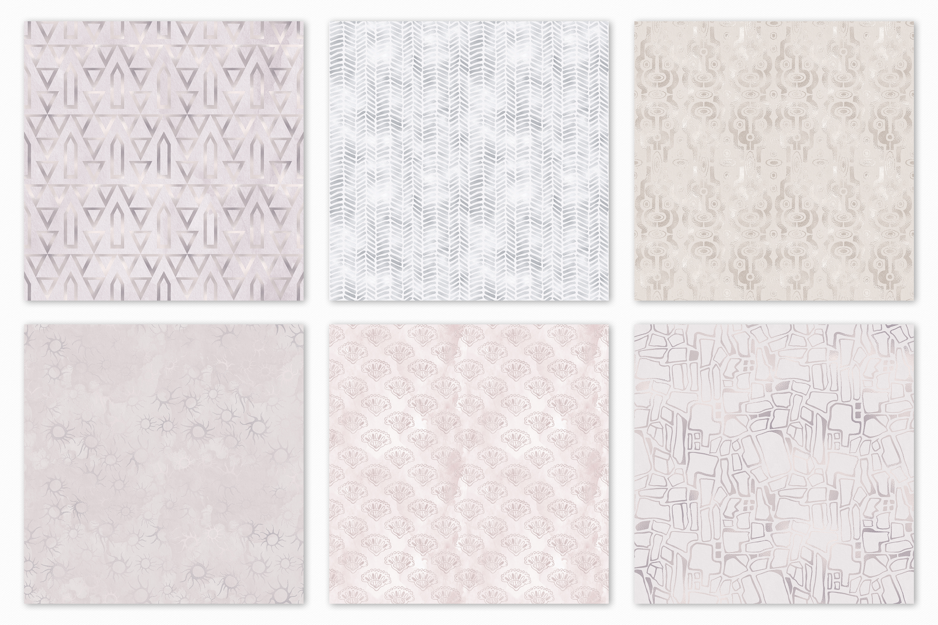20 Seamless Shabby Chic Digital Papers example image 14