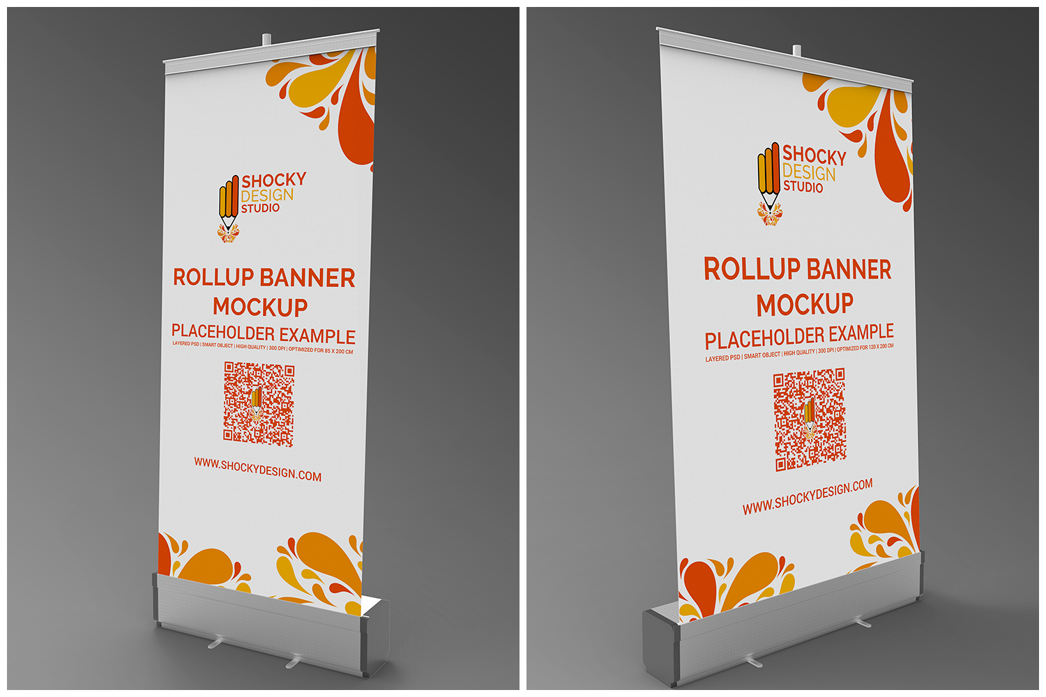 Rollup Banner Mockup example image 3
