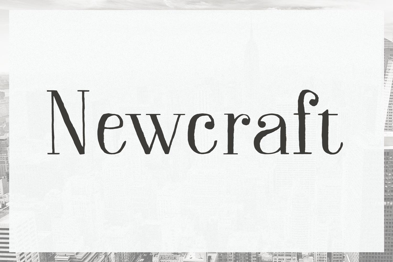 Newcraft Serif example image 1