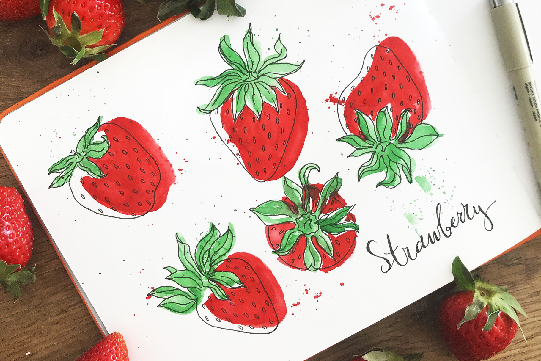 Strawberry field example image 2