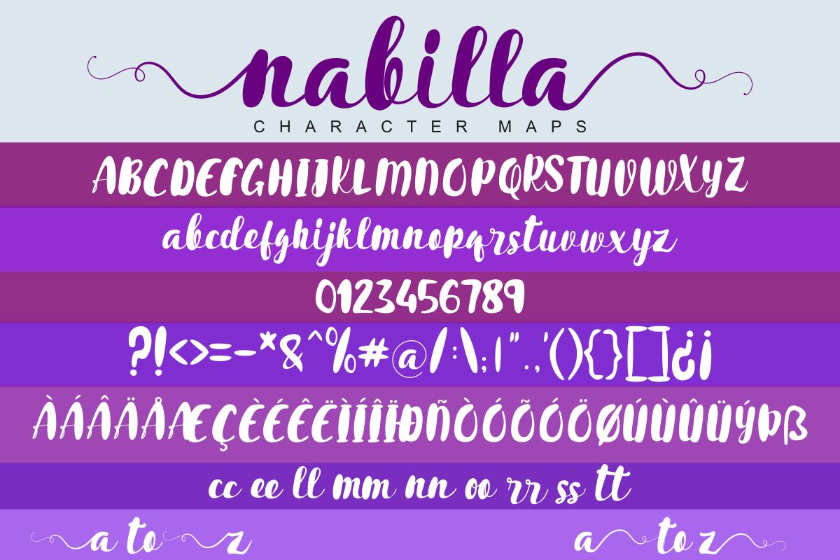 Nabilla Script example image 6