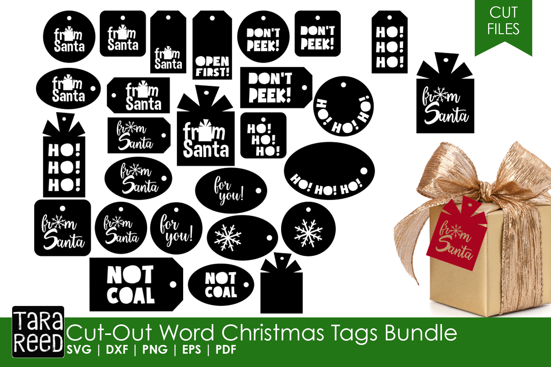 Kids Christmas MEGA Bundle - SVG and Cut Files for Crafters example image 5