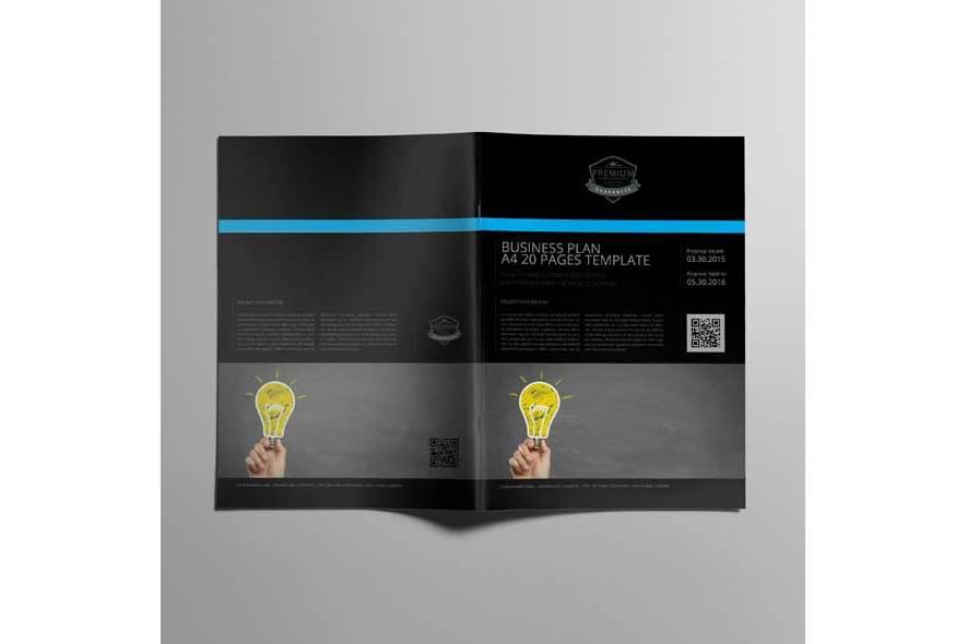 Business Plan A4 20 Pages Template example image 6