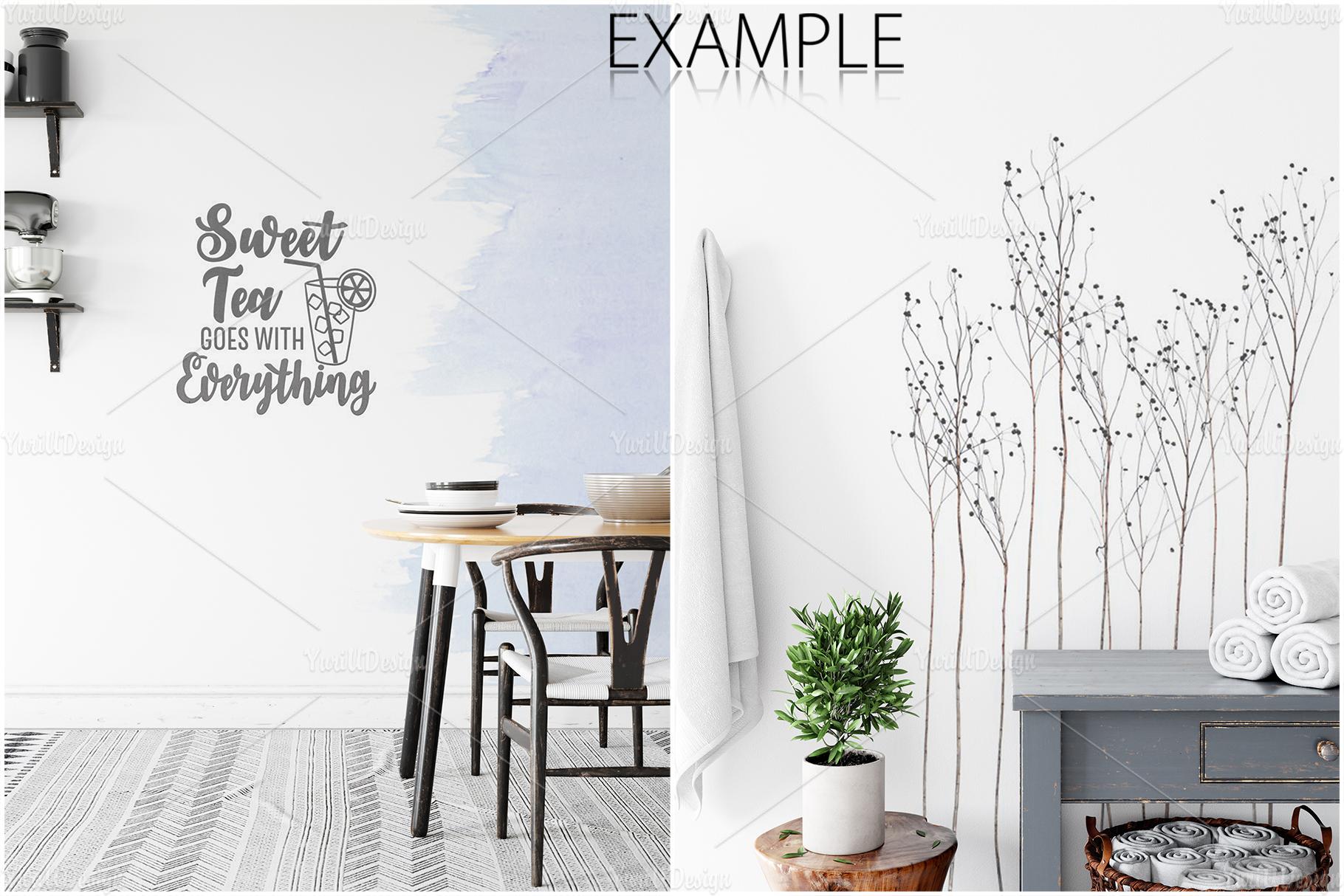 Scandinavian Interior Frames & Walls Mockup Bundle - 3 example image 17