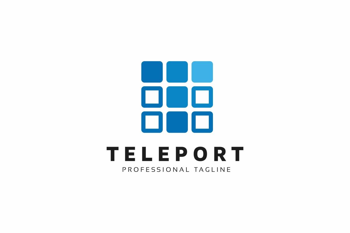 Teleport T Letter Logo example image 1