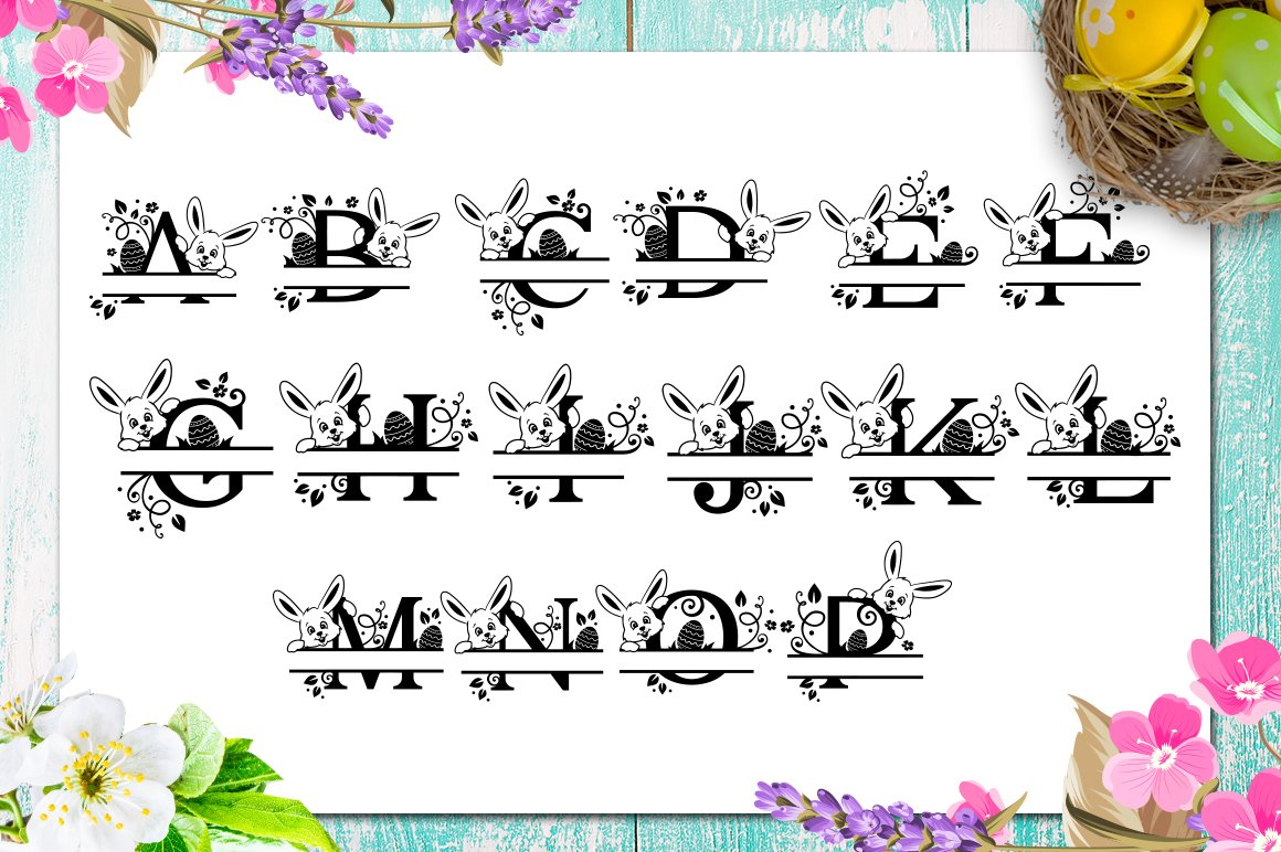 Easter Bundle - 30 Easter SVG files Bundle Easter SVG file example image 8