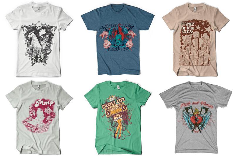 100 T-shirt Designs Vol 4 example image 13