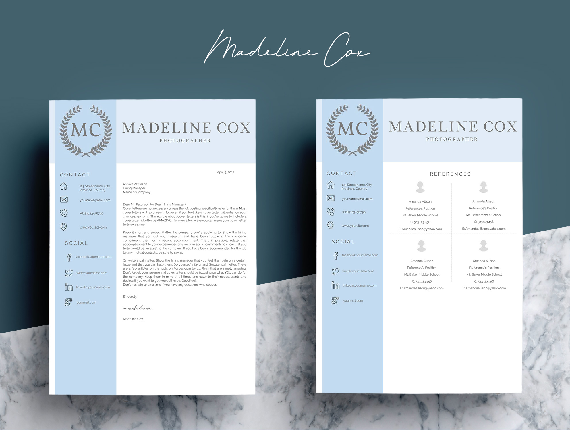 Resume Template Word 5 Pages example image 9