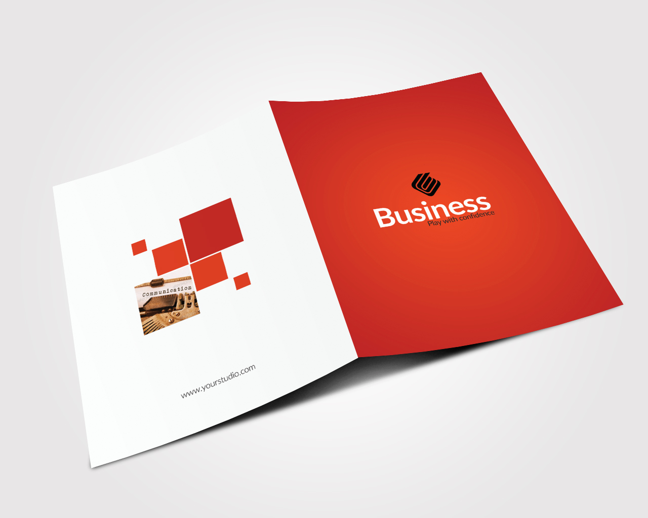 Business Bifold Brochure Templates example image 5