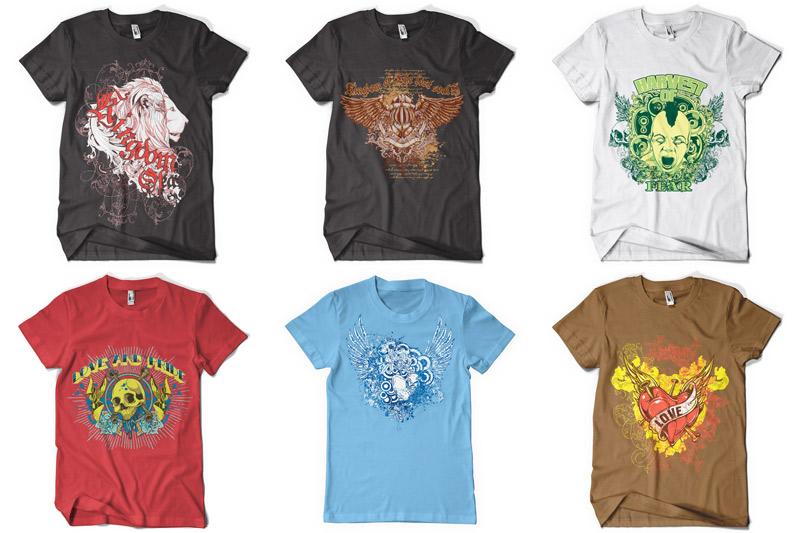 100 T-shirt Designs Vol 2 example image 10