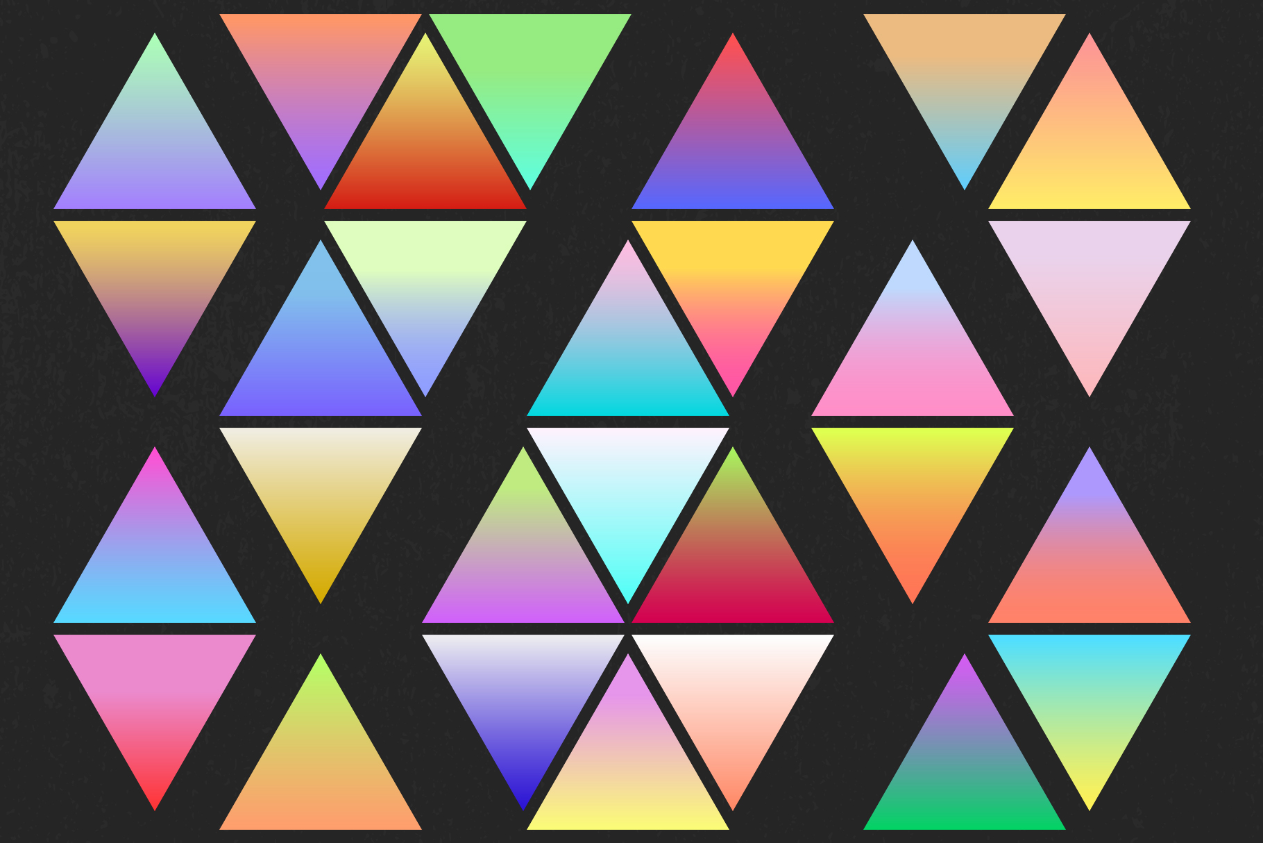 Holographic gradient life example image 10