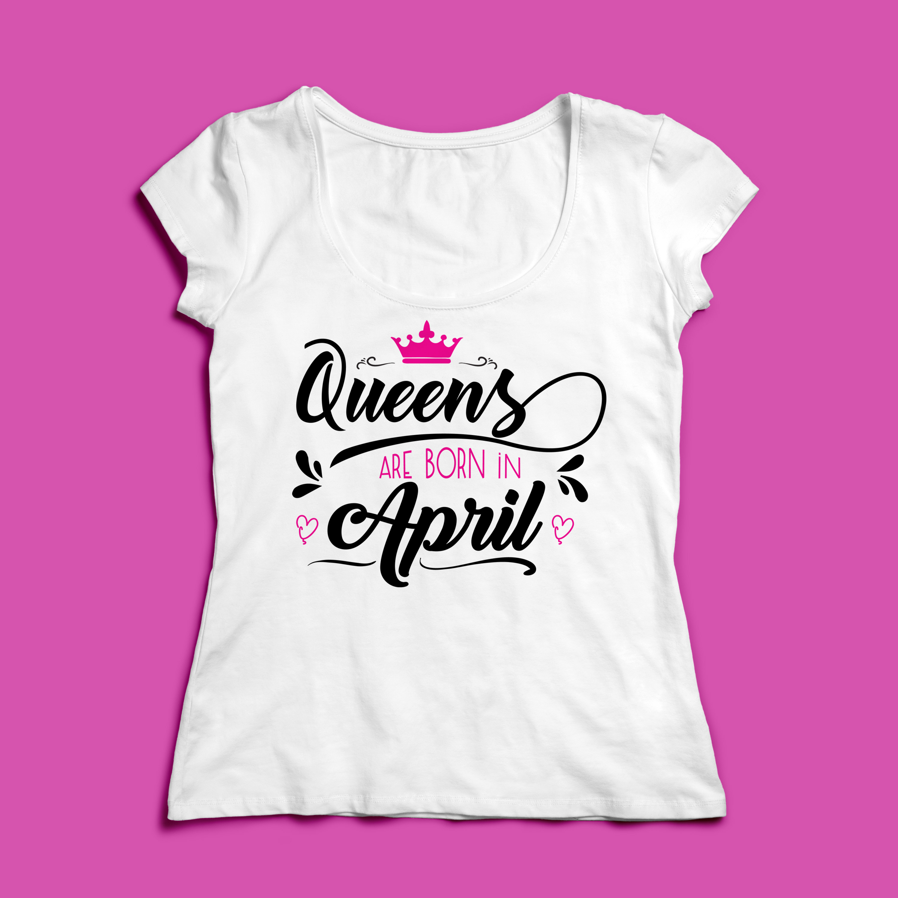 Queens are born in ... Every 12 months Svg,Dxf,Png,Jpg,Eps v example image 2