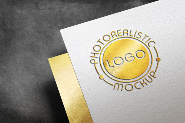 Logo Mock-Up Paper Edition example image 17