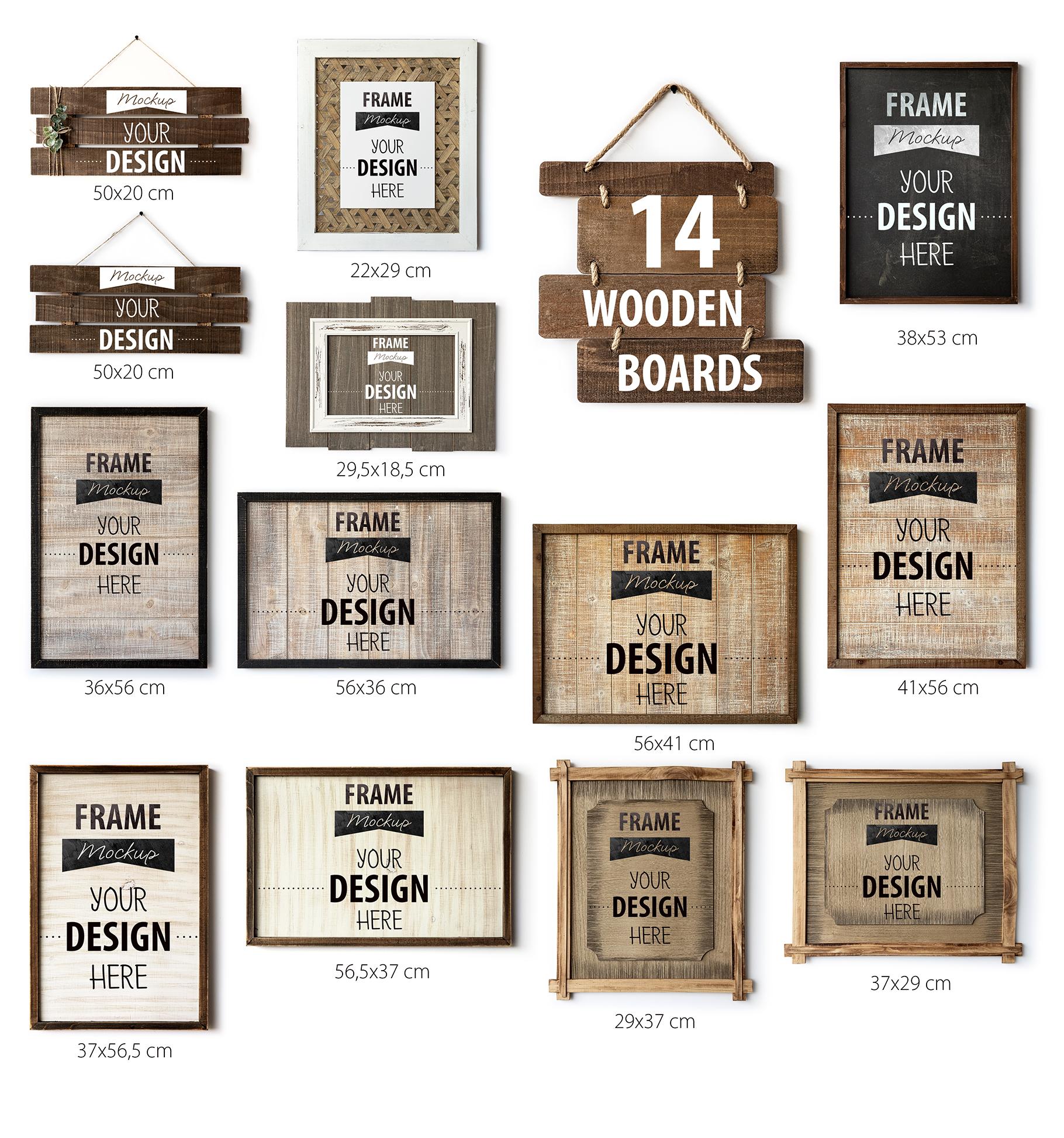 Scandinavian Interior Frames & Walls Mockup Bundle - 3 example image 6