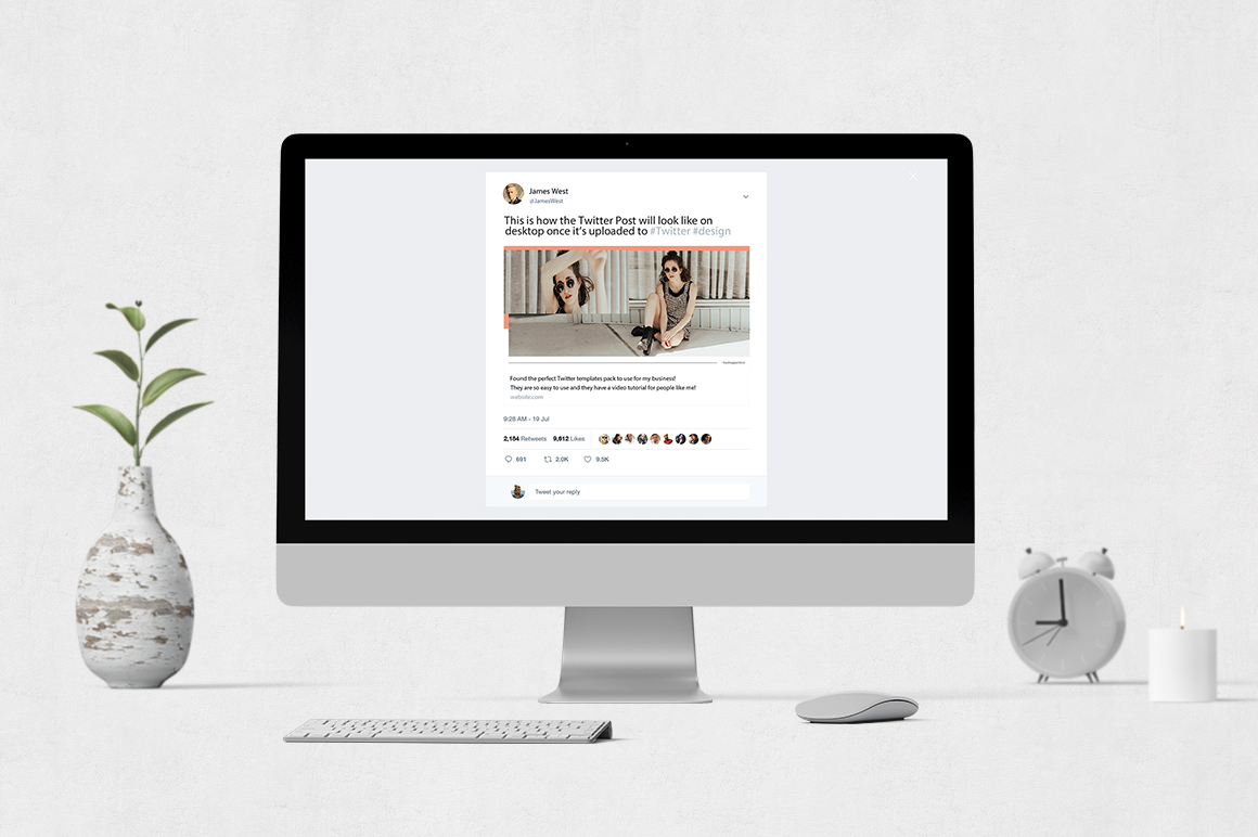 Style Twitter Posts example image 4