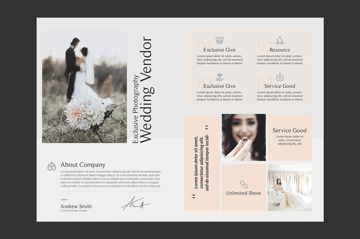 Wedding Photography Brochures example image 3