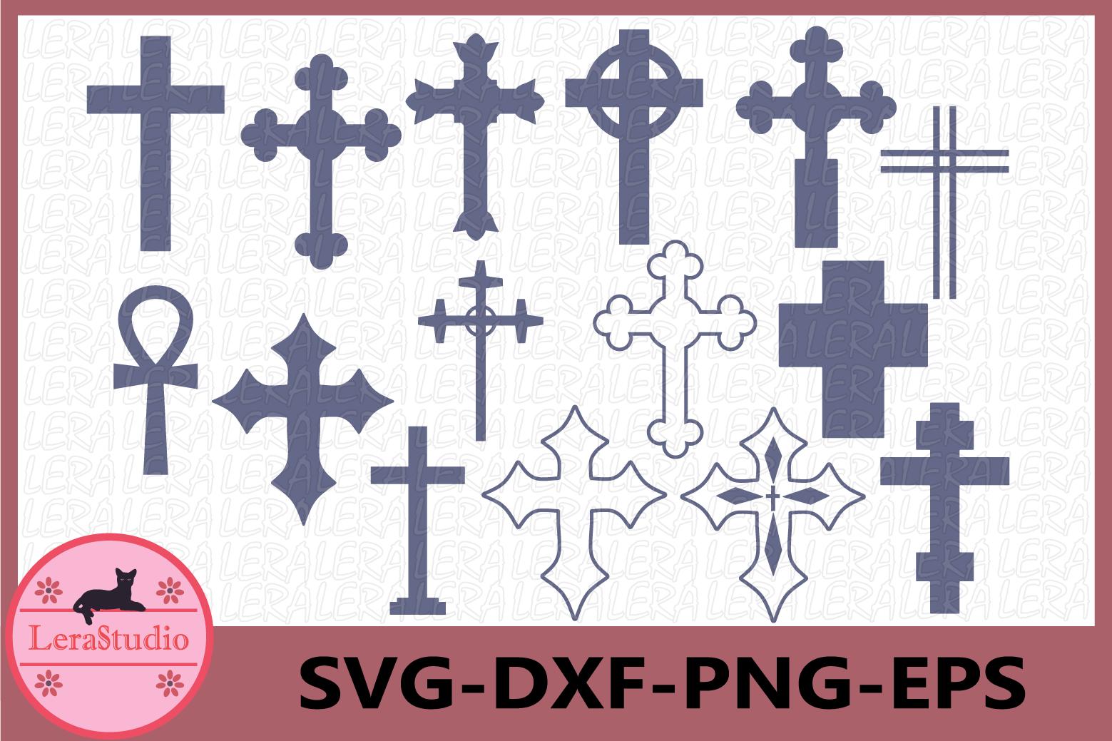 Cross SVG, Christian svg Files, Christian Cross Cut Files example image 1