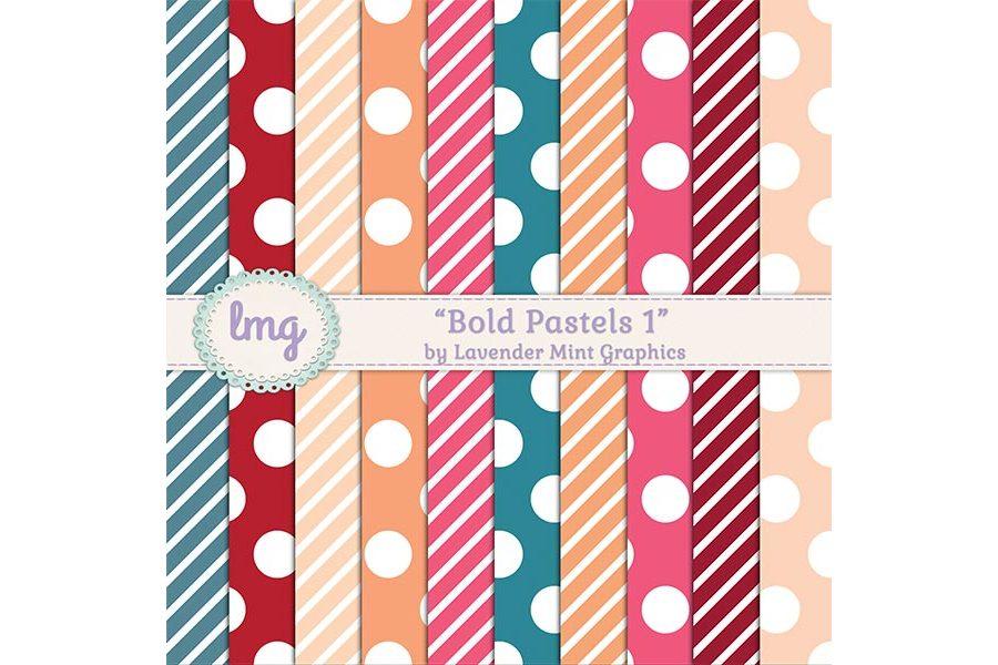 Bold Pastels 1 example image 1