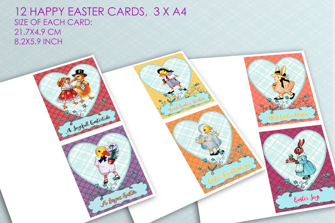 24 Easter Cards and Postcards example image 3