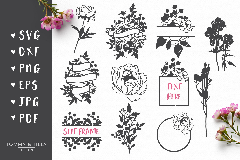 MEGA BUNDLE! Romantic Cut Files - SVG | Papercut example image 11