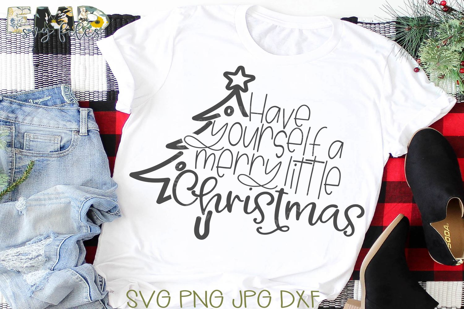 Christmas Holiday Bundle Svg | Merry Christmas Svg example image 6
