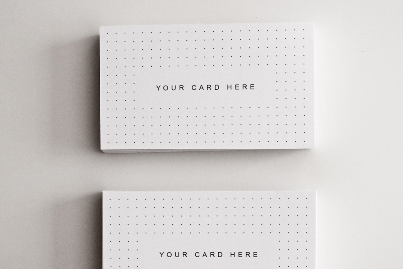 Set of 15 Business Card - Flyer Mock-ups example image 16