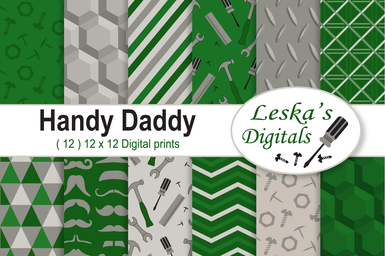 Handyman Digital Paper Pack example image 1