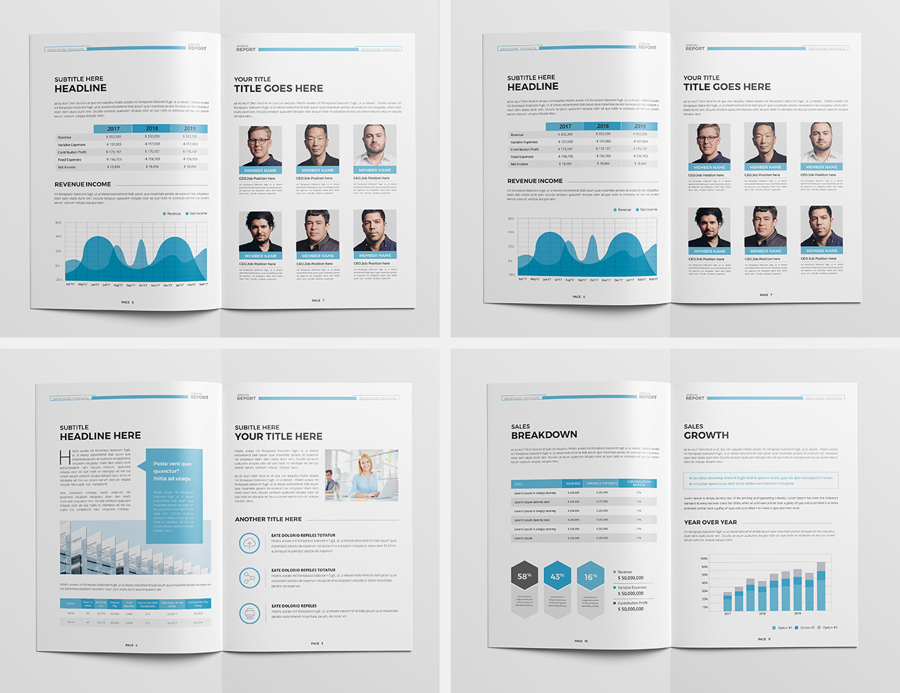 The Blue Annual Report example image 4