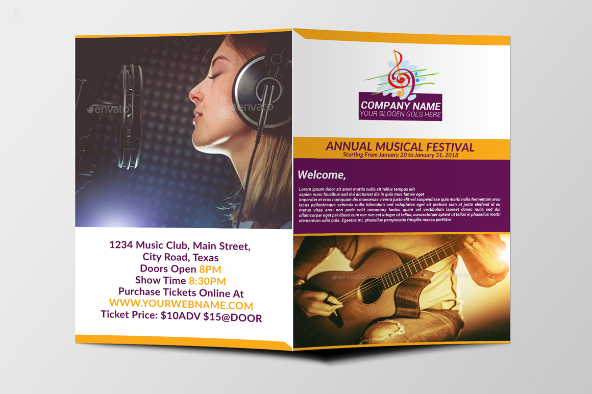 Music Festiva Bifold example image 8