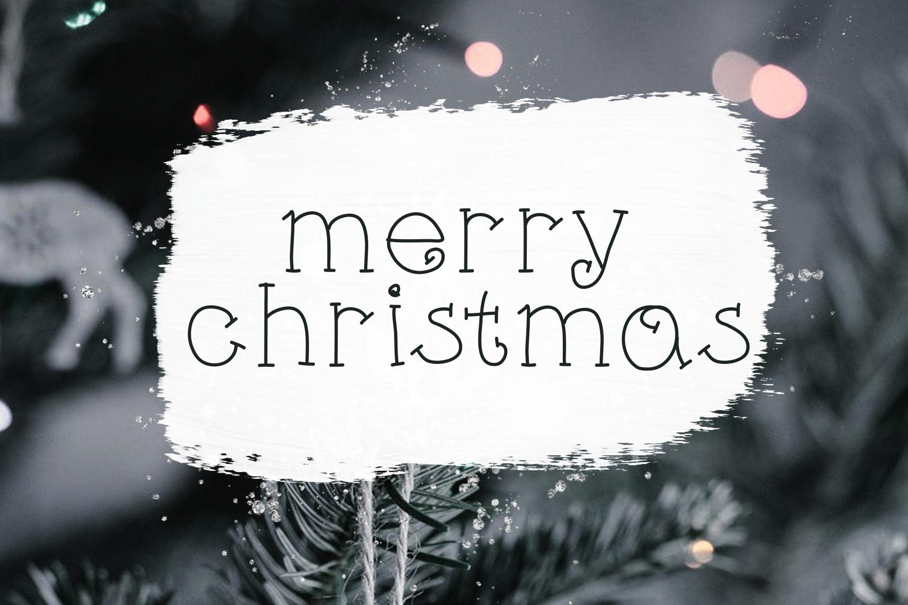 Little Reindeer - A Cute Handwritten Font example image 4