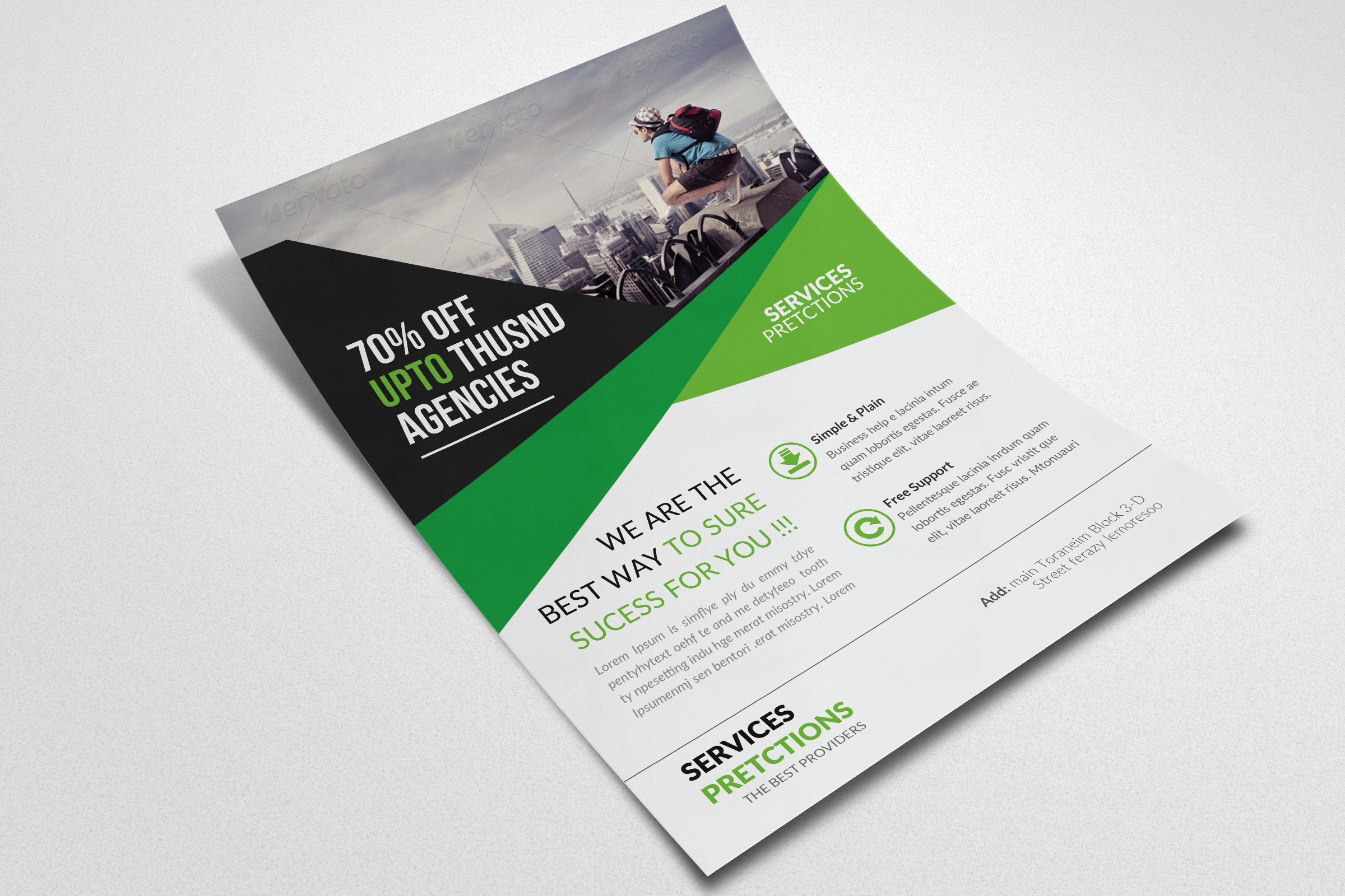 Business Tourist Flyers example image 3