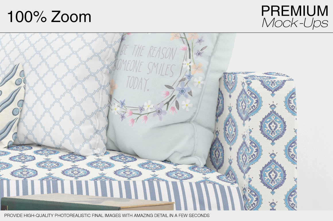Sofa & Pillows Pack example image 15