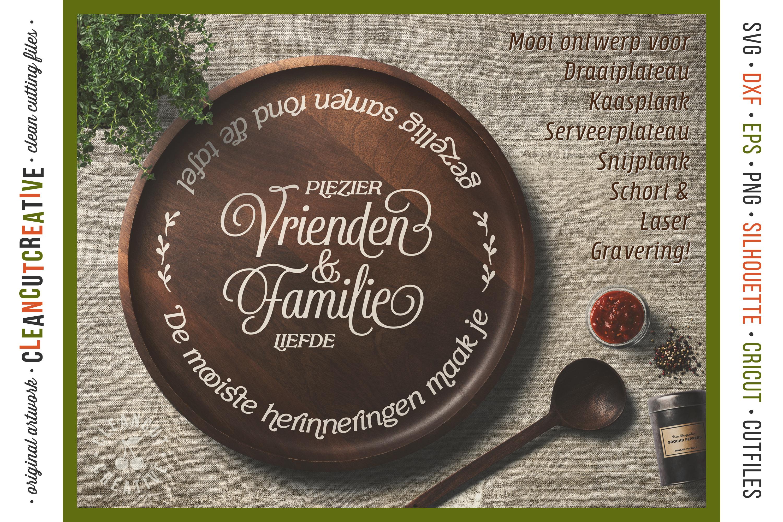 Vrienden & Familie - Mooiste Herinneringen Rond de Tafel SVG example image 2