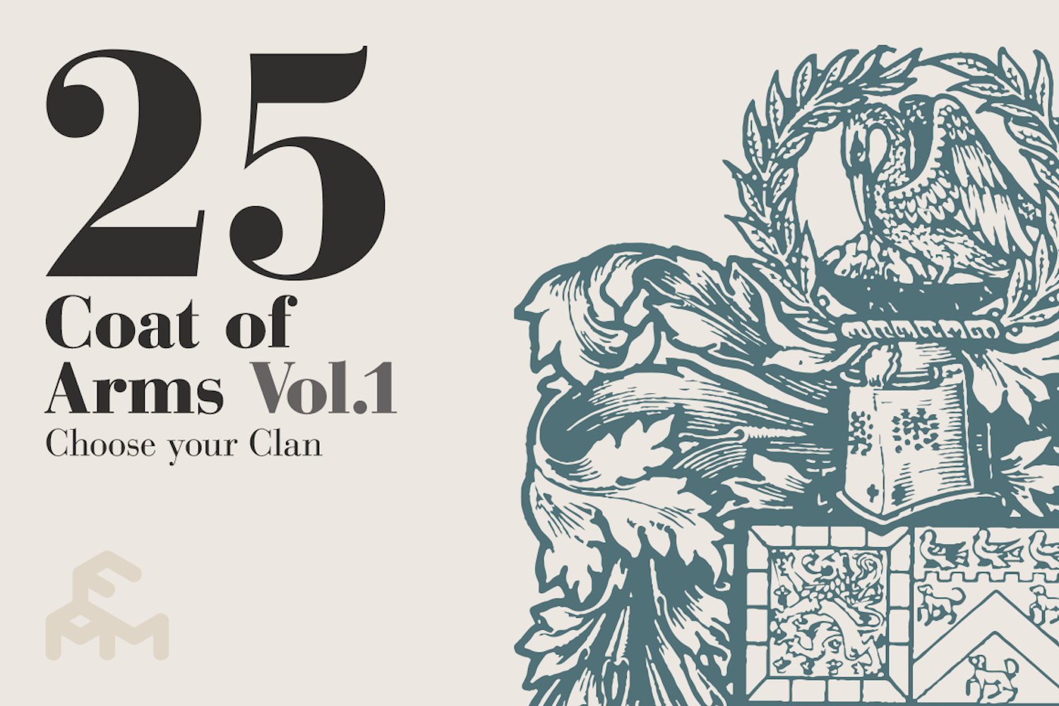 25 Coat Of Arms - Vol.1 example image 1