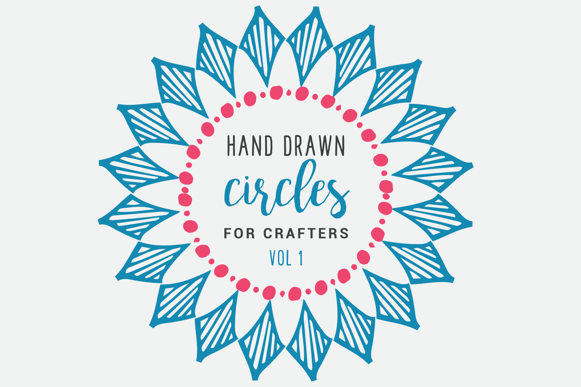 Hand Drawn Circles for Crafters example image 1