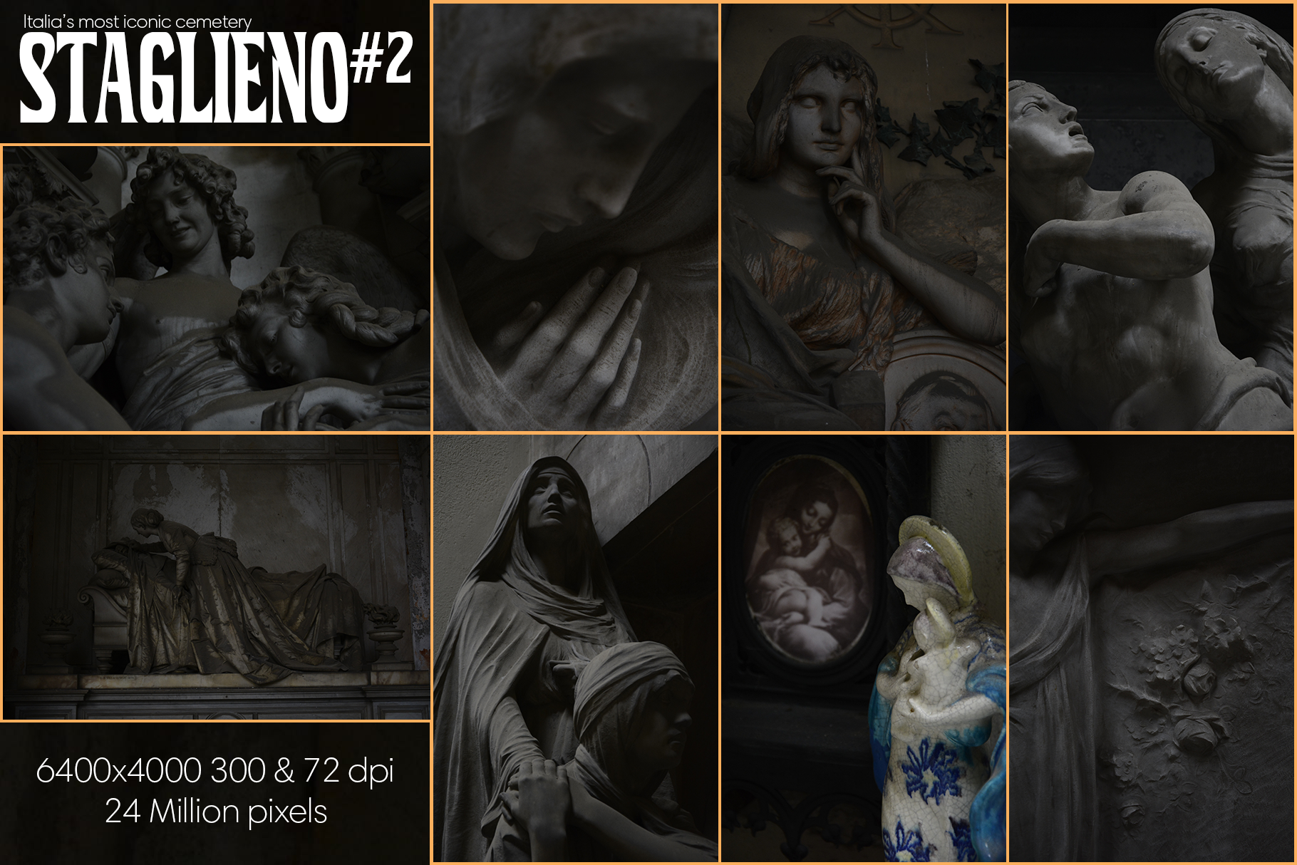 STAGLIENO#2 Funeral Art Stock Bundle example image 5