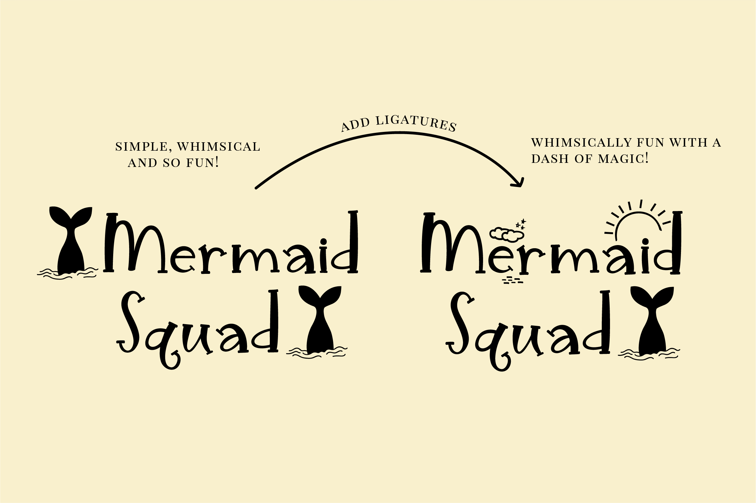 Unicorn Island Font and Dingbats example image 2