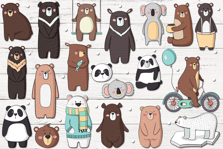 Cute Bears example image 2