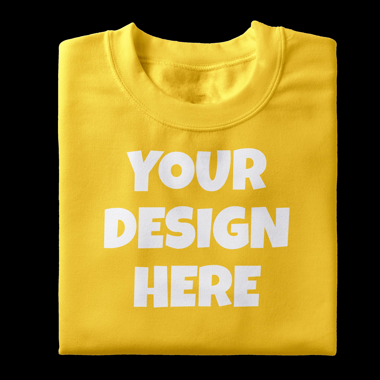 Folded Tshirt Mockups-12|PNG|3000x3000 example image 5