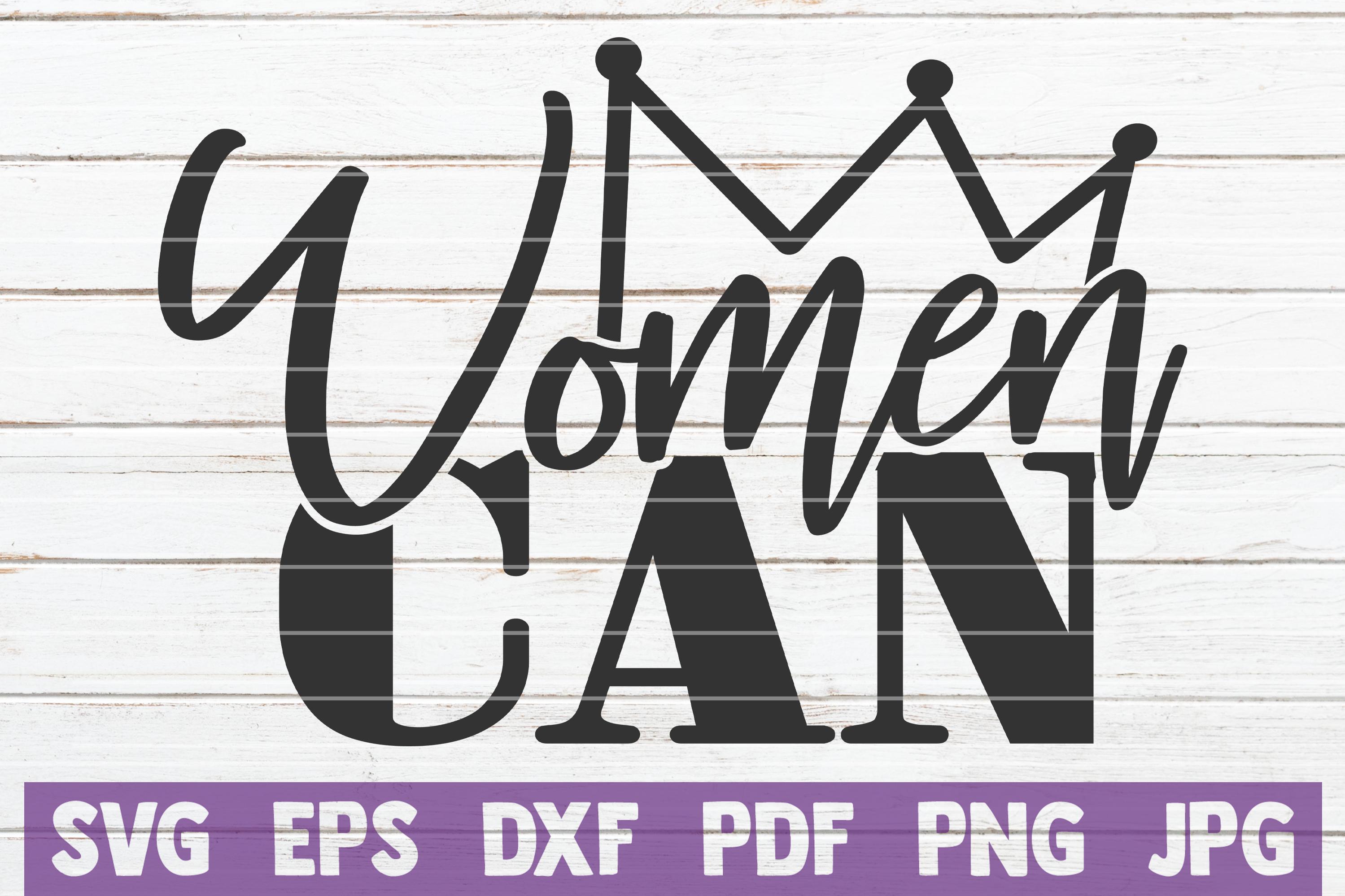Girl power SVG Bundle | Woman Up SVG Cut Files example image 20